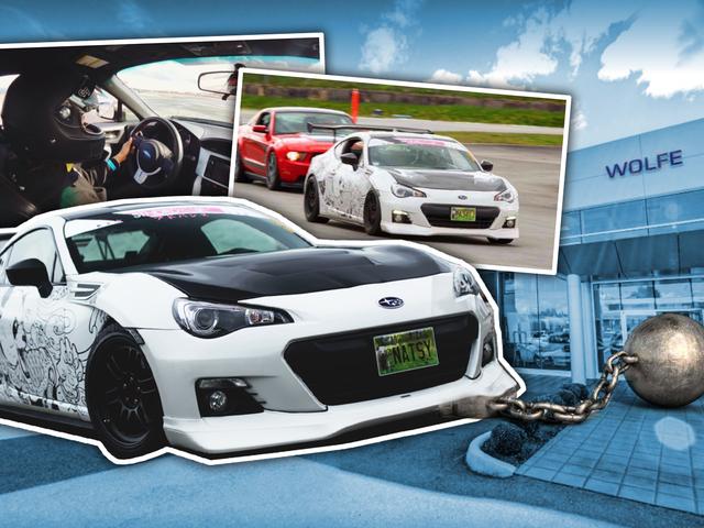 El concesionario de Subaru detiene a BRZ Hostage después de que Facebook acechara el día del propietario