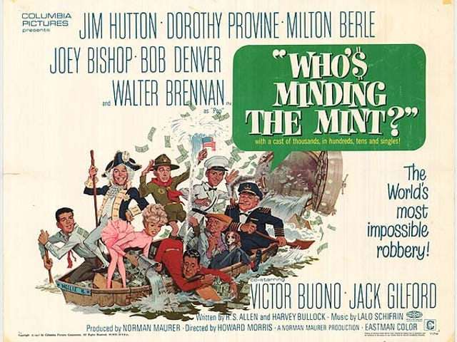 Who's Minding the Mint? (1967)