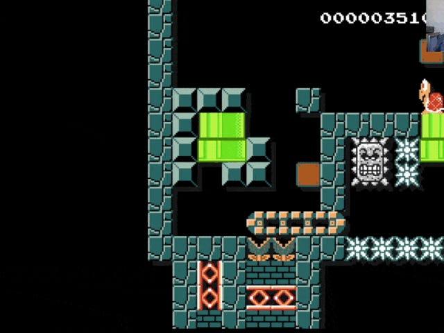 En Åtta år gammal förstörde mig i <i>Mario Maker</i>