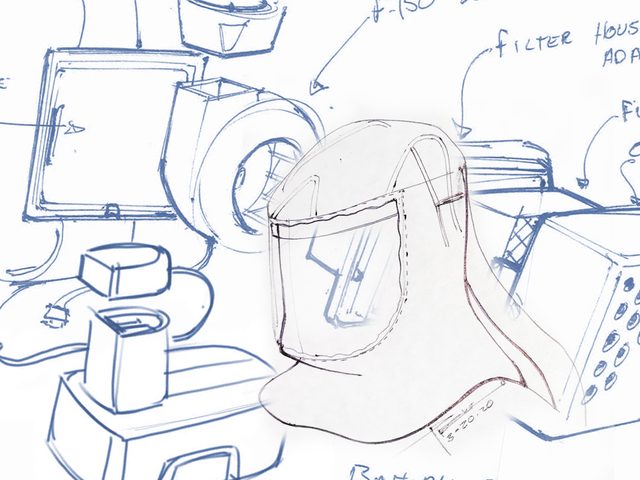 Fordin nopeasti suunnitellut ilmanpuhdistimen hengityssuojaimet ovat F-150: n ja käsityökalujen osien järkevä uudelleenkäyttö.