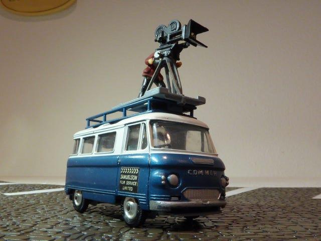 สัปดาห์รถ LaLD - พฤหัสบดีที่แม่น้ำเทม: กล้องคอมมานเลอร์แวน