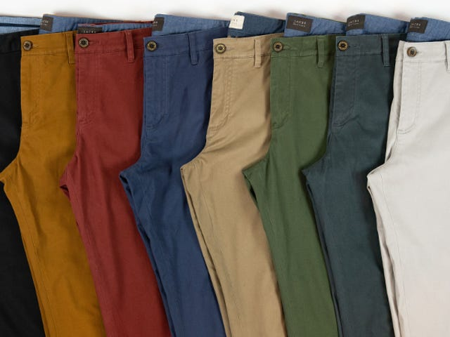 Pick Up Three Stretch Cotton Chinos From Jachs For $100 + Free Shipping (60% Off)