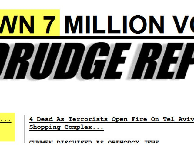 Does Drudge know we can follow his links?
