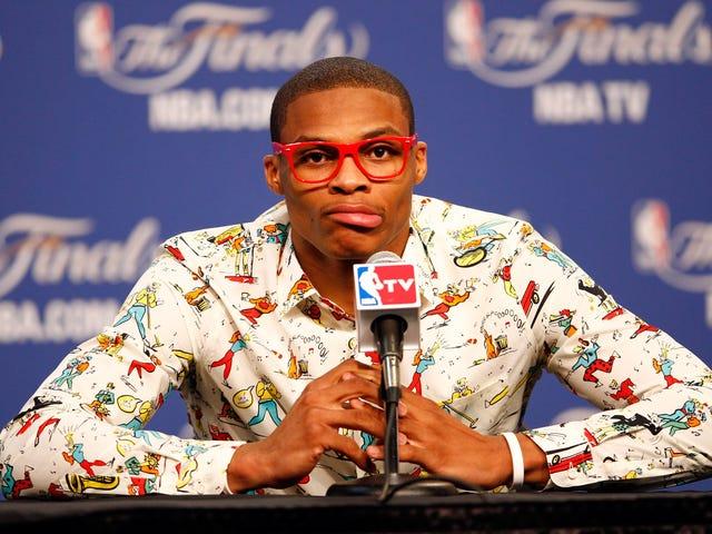 """Zgłaszający roszczenia Russell Westbrook jest """"z jego umysłu"""""""