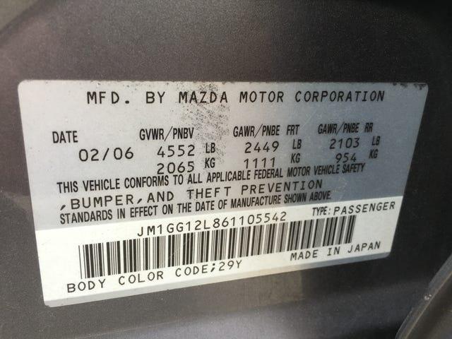 Happy birthmonth to my Mazdaspeed 6!