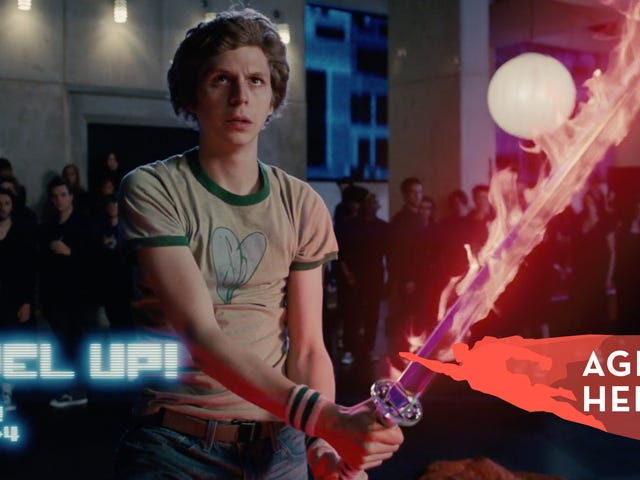 Scott Pilgrim is more zero than superhero, but his movie is still a zippy comic-to-screen delight