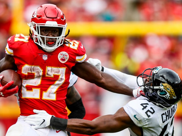 NFL Suspends Kareem Hunt Eight Games For Kicking And Shoving Woman