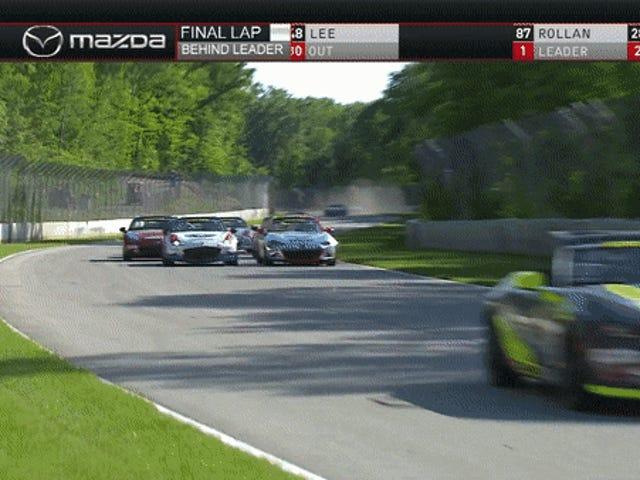 Δεν υπάρχει τίποτα τόσο απρόβλεπτο ως το Mazda MX-5 Cup Racing στο Road America