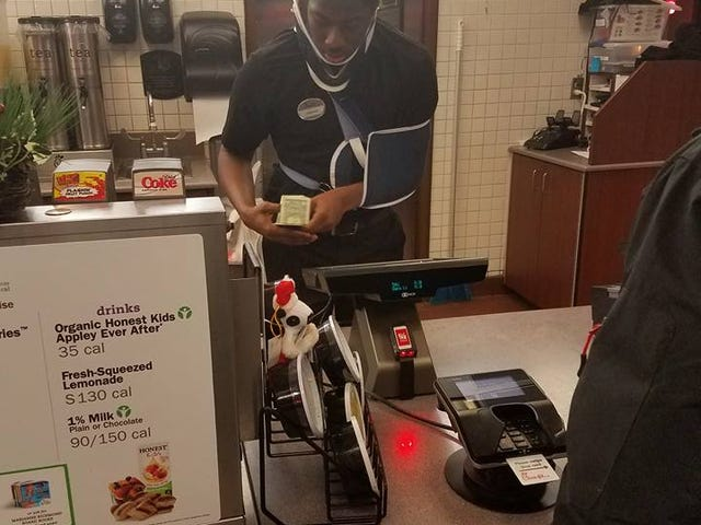 Photo of Injured Teen Working at Chick-fil-A Sparks Viral GoFundMe Campaign