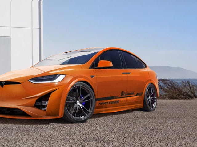 Voici le modèle X Tesla SEMI-fied que l'Amérique mérite