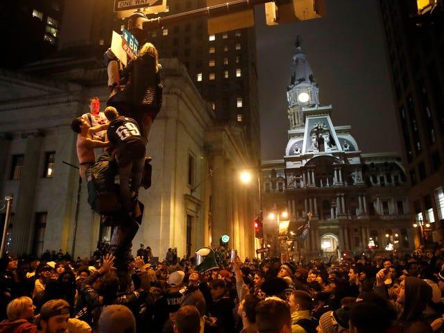 Things Philadelphians Did