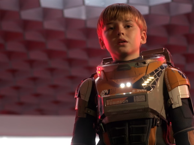 Here's Your First, Very Serious Look at Netflix's Lost in Space Reboot