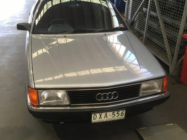 Audi 100CD 1988, Skoda Fabia에서 근무 중