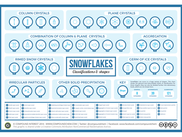 See Every Possible Kind Of Snowflake Shape In One Chart