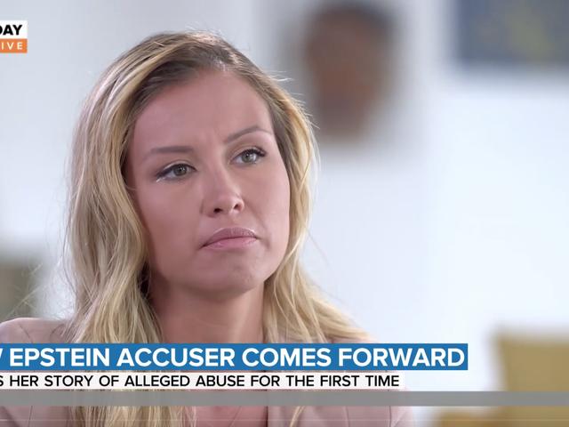 Frau beschuldigt Jeffrey Epstein, sie vergewaltigt zu haben, als sie 15 war