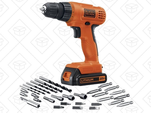 Tackle Your Home Improvement Projects With Amazon's One-Day Drill Discount