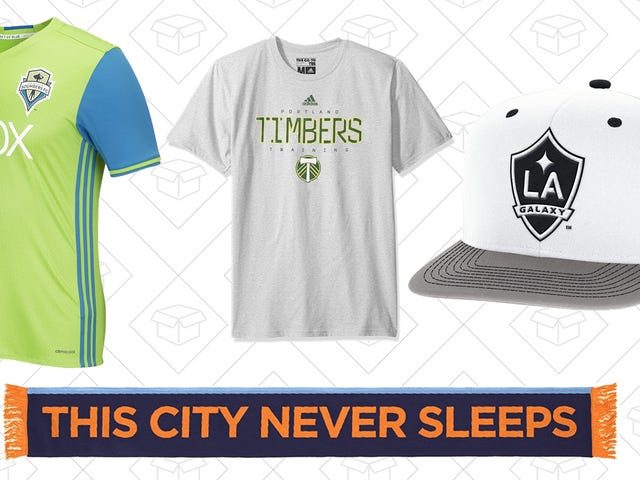 Support The Beautiful Game With Amazon's One-Day MLS Apparel Sale