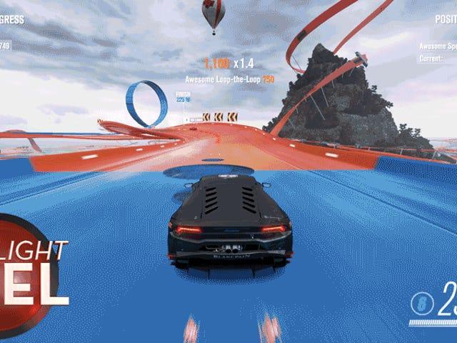<i>Forza</i> pelaaja voittaa <i>Hot Wheels</i> -tyylin