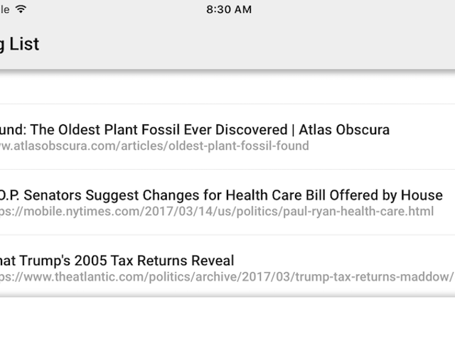 Chrome for iPhone Gets a Reading List for Saving Articles and Offline Reading