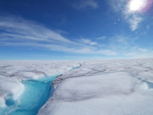 There May Be Troves of Liquid Water Hiding in Greenland's Ice