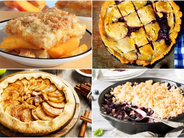 What's the difference between a crisp, cobbler, crumble, buckle, galette, and pandowdy?