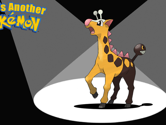 Girafarig Has A Second Head That Never Sleeps