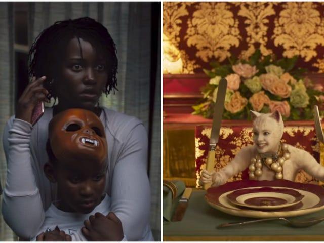 Ang Cats / Us trailer na mash-up na ito ay nakakubli