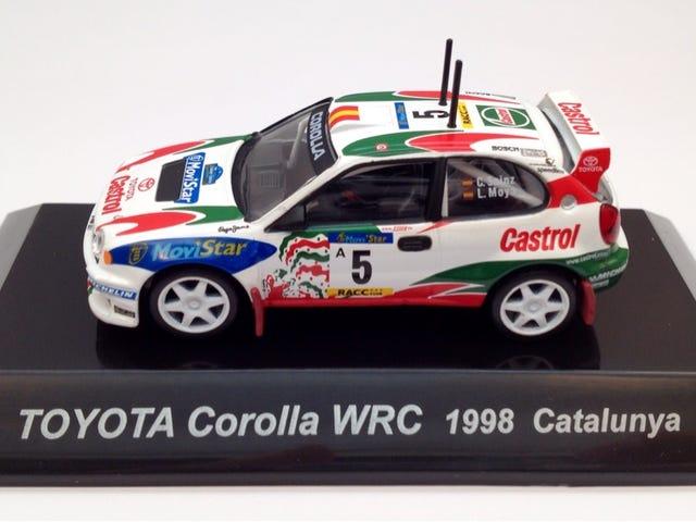 CM's 1998 WRC Castrol Corolla #5.