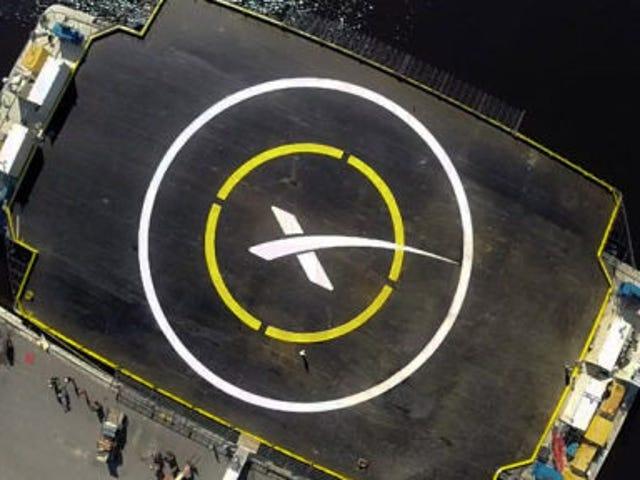 Sigue el aterrizaje del Falcon 9 sobre una barcaza (actualizado)