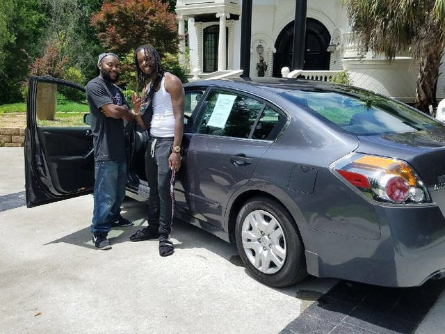 A Man Who Unknowingly Helped A Rapper Out Of A Car Wreck Is Rewarded With A New Car