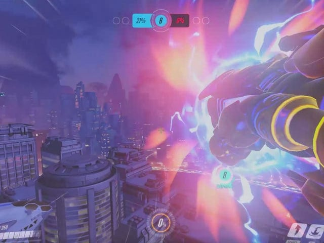 Overwatch Player Uses Doomfist To Obliterate Pharah And Mercy From Orbit