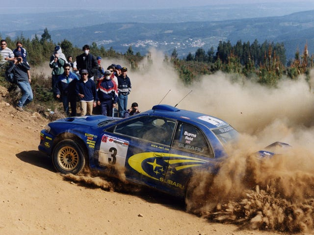 Rally Flashback: Portugal 2000