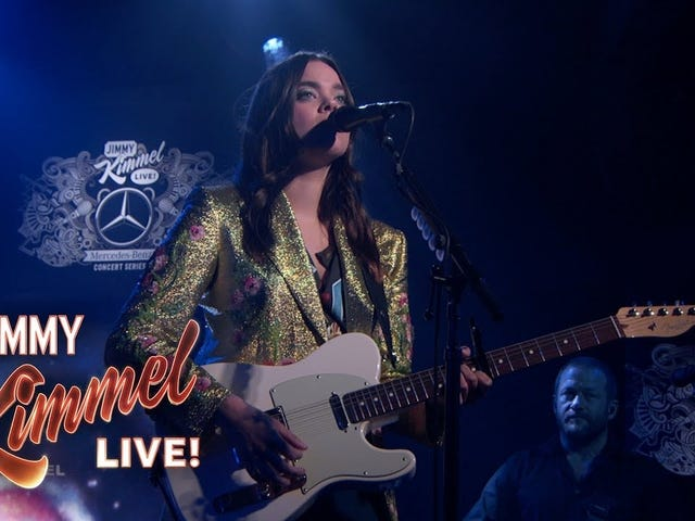 Sister Duo First Aid Kit Let Their Soulful Wails Loose on <i>Kimmel</i>