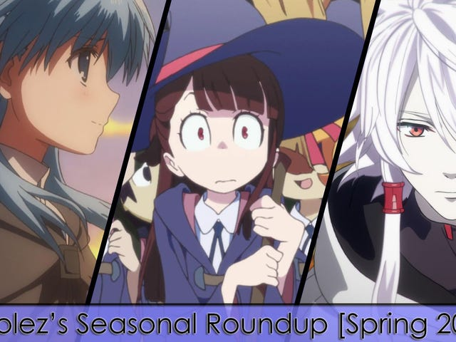 Stínolez's Seasonal Roundup [Spring 2017]