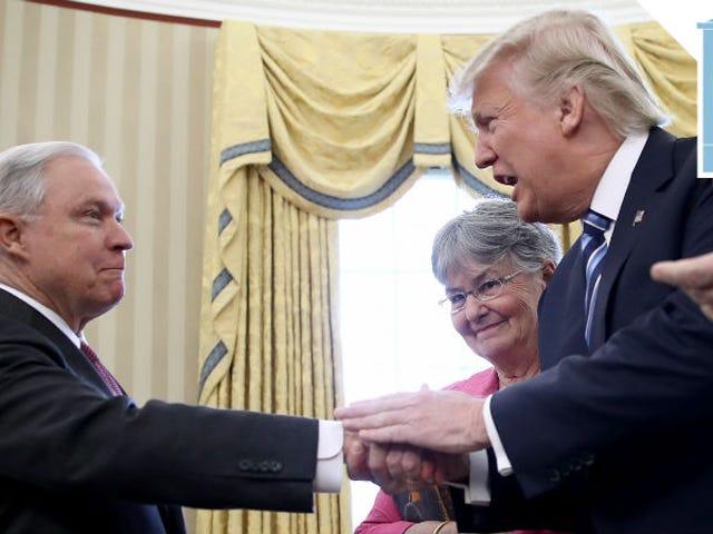 Donald Trump Has No Attorney General, Is 'Very Sad'