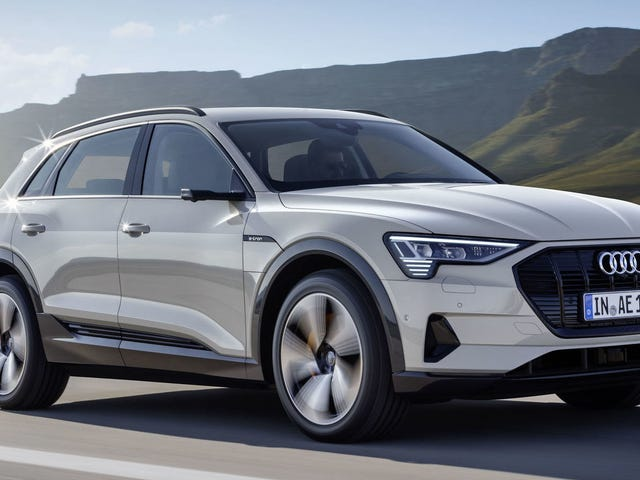 Audi's Plan to Sell the Electric 2019 E-Tron Is Actually Pretty Smart