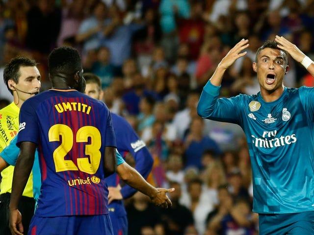 """Ronaldo llama suspensión de cinco partidos por Shoving Ref """"Persecución"""""""