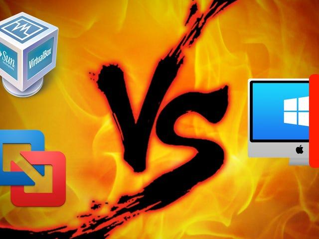 Run Windows on Your Mac: VirtualBox vs VMware Fusion vs Parallels