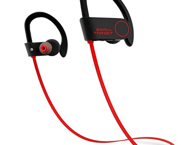 Small Target Waterproof IPX7 Bluetooth Headphones for $9.99