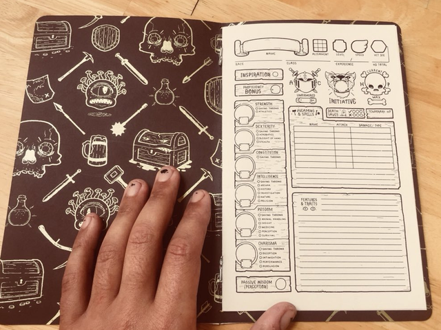 Custom D&D Character Sheets Are A Critical Hit