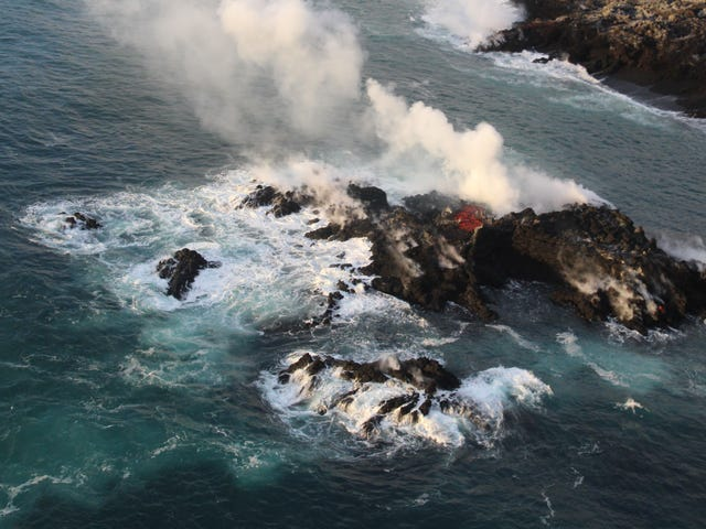 Kilauea's Eruption Produced This Tiny, Short-Lived Island
