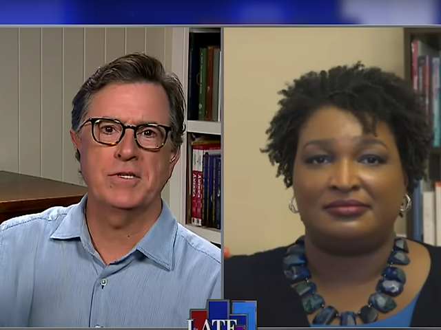 Georgia's actual governor tells Stephen Colbert how Georgia's election disaster is the GOP's 2020 plan