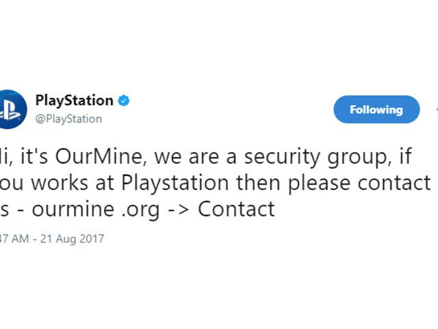 PlayStation's Twitter, Facebook Accounts Briefly Hacked [Update]