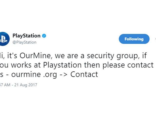 PlayStation Twitter, Facebook-konton kort hackad [Uppdatering]