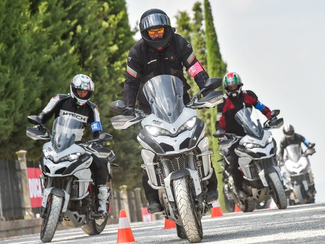 How to ride a rented BMW motorcycle through Europe