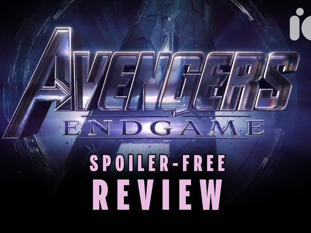 Watch Our Totally Spoiler-Free Avengers: Endgame Video Review