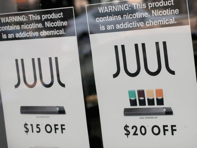 Juul Heist Thwarted by Lyft Driver, Cops Also
