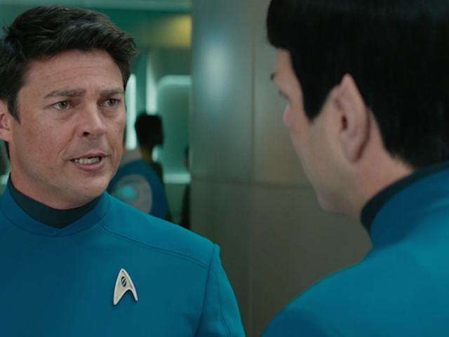 Bones Teaches Spock About Love in a New Star Trek Beyond Clip