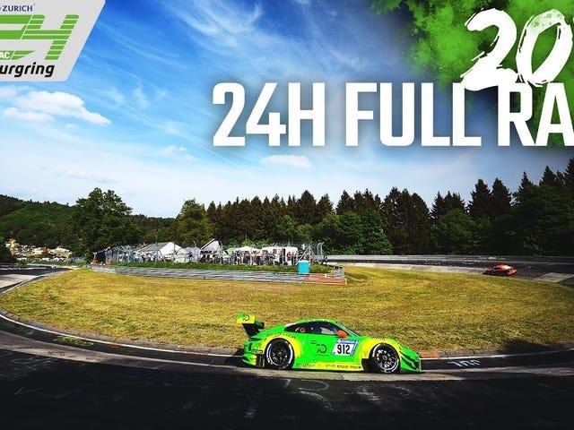 Olet varma, että olet jättänyt Nurburgringin 24 tunnin kilpailun.