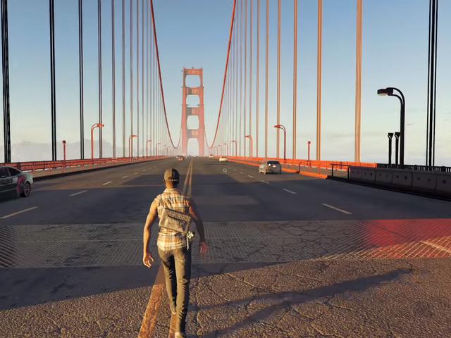YouTuber fait de belles promenades à travers d'énormes jeux vidéo